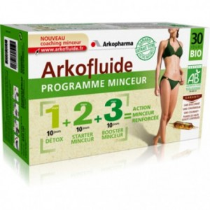 Arkofluides Prog Minceur - 3x10 ampoules