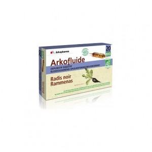 Arkofluides Radis Noir - 20 ampoules