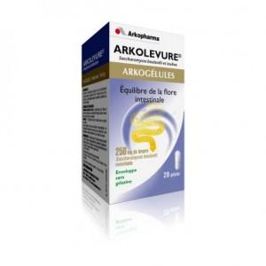 Arkogélules Arkolevure - 28 capsules