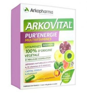 Arkovital Pur'Energie - 60 gélules