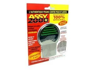 ASSY 2000 - Peigne antipoux antilentes