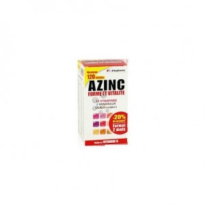 Azinc Adulte - 120 gélules