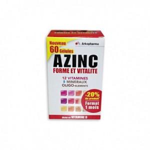 Azinc Adulte - 60 gélules