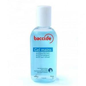 Baccide gel mains sans rincage 75 ml