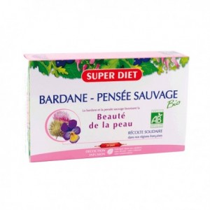 Bardane/Pensee - 20 ampoules