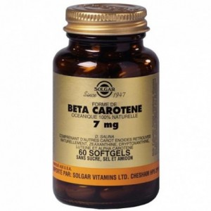 Beta Carotene 7 Mg - 60 gélules
