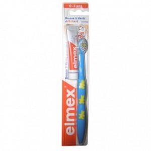 Elmex brosse à dents débutant 0-3 ans