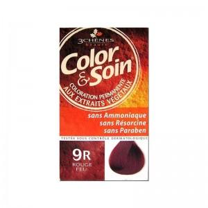 Color & Soin coloration Femme Couleur Rouge Feu 9R