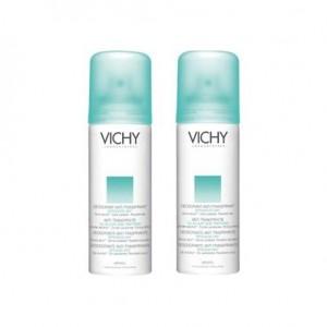 Déodorant anti transpirant 48h aérosol lot 2 X 125 ml