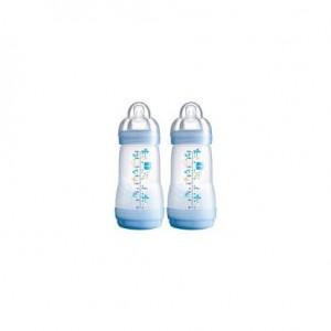 Biberon anti-colique - 260 ml lot de 2 bleus