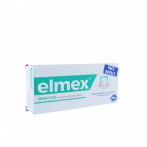 Elmex dentifrice sensitive - 2 X 75 ml
