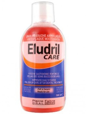 Eludril Care - 500 ml - Bain de bouche