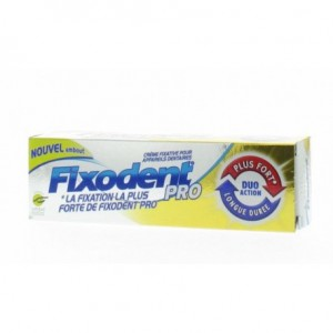 Fixodent pro duo action