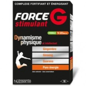 Force G stimulant - 20 ampoules de 10 ml