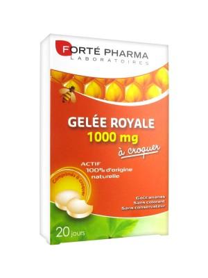 Gelée royale 1000 mg - boîte de 20 comprimés