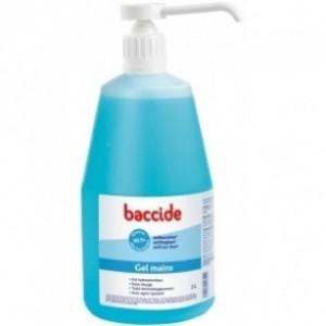 Baccide Gel hydroalcoolique sans rinçage - 1 L