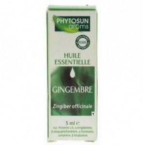 Huile essentielle gingembre - 5 ml