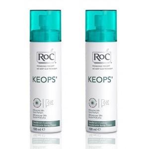 Keops Spray déodorant fraîcheur - 2 x 100 ml