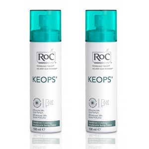 Keops Spray Déodorant Fraicheur Lot de 2 x 100 ml