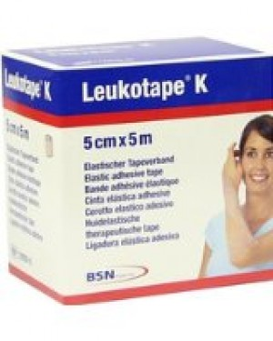 Leukotape K Bandage technique neuromusculaire 5 cm x 5 m