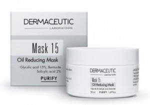 Masque régulateur de sébum qui nettoie en profondeur les peaux mixtes et grasses du visage à tendance acnéique.