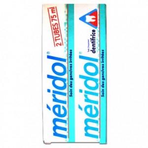 Meridol dentifrice gencives irritées 2 X 75 ml