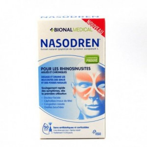 Nasodren Sinusite - 50 mg