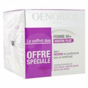 Oenobiol Femme 45+ Ventre Plat Menthe Duo