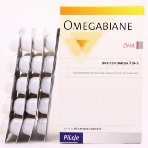 Omegabiane Huile Dha - 80 capsules