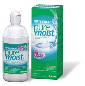 OPTI-FREE Solution pour lentilles Pure Moist - 300 ml