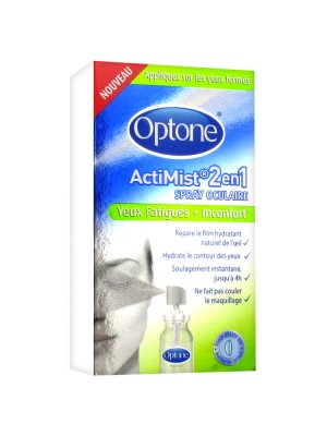 Optone Actimist 2 en 1 Yeux fatigués - 10 ml