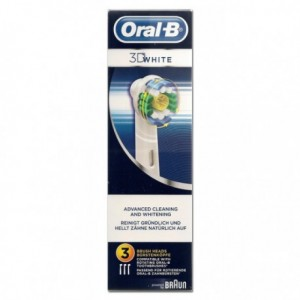 Oral B brossettes 3D white X3