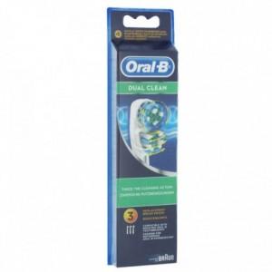 Oral B brossettes dual clean X3