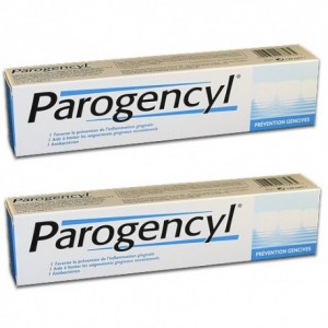 Parogencyl dentifrice prévention gencives 75 ml lot de 2