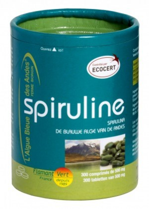 Spiruline Ecocert - 300 comprimés