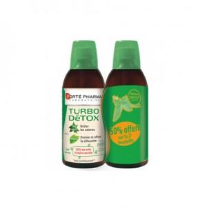 Turbodetox goût pomme 2 X 500 ml