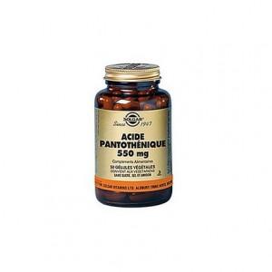 Vit B5 Acide Pantothenique - 50 gélules