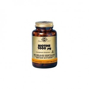 Vitamine B8 Biotine 1000ug - 50 gélules