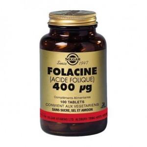 Vitamine B9 Acide Folique - 100 gélules