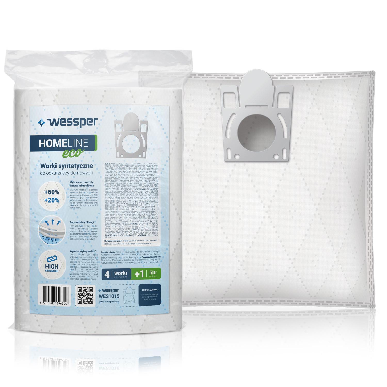 30 sacs pour aspirateur convient pour Bosch BSG 4000-4999 terrossa