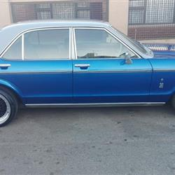 1974 Ford Granada Ghia,lovely blue for Sale.