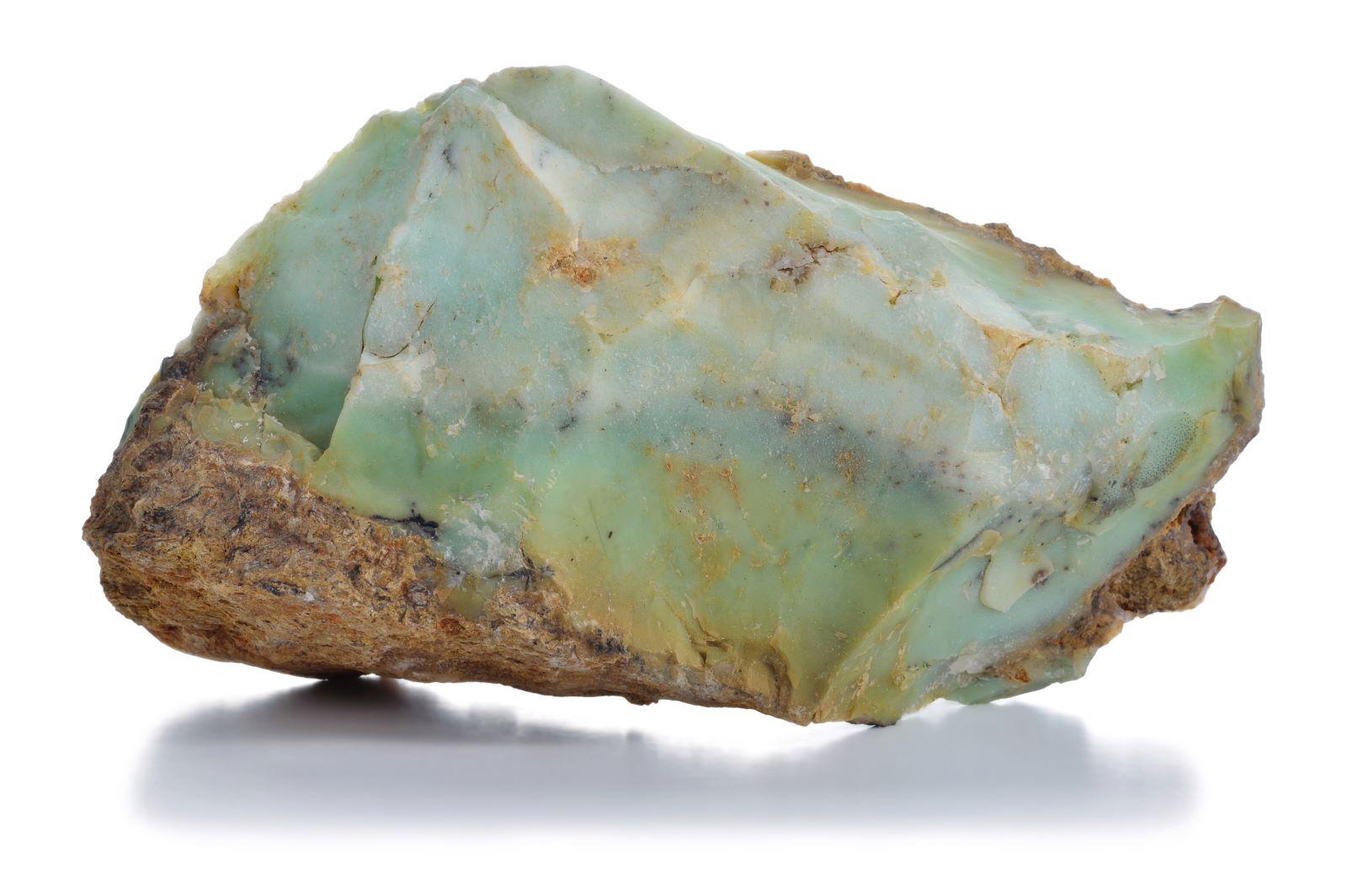 Grüner Opal Mineral