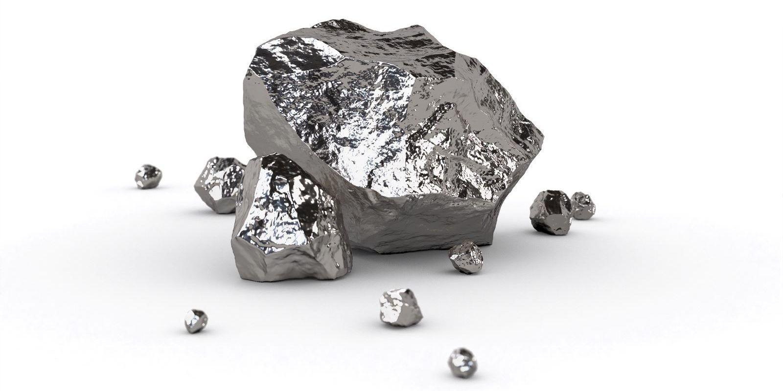 Platinum raw stone