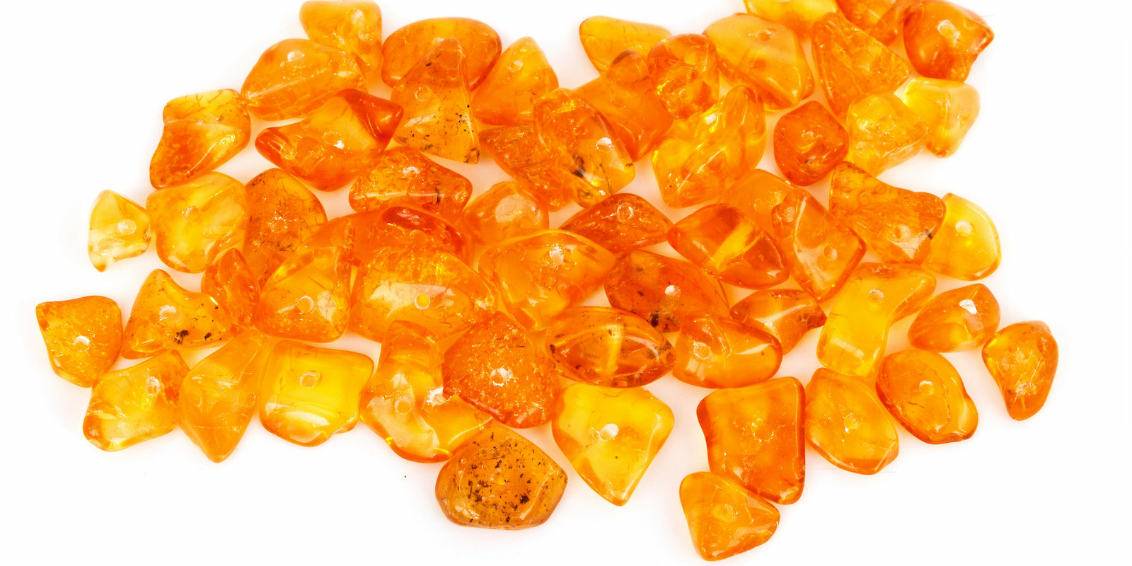Raw, unpolished amber