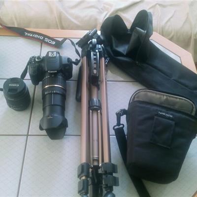 Garantili Canon 650d 18-200 18-55 tripod çanta 32gb hafıza kartı