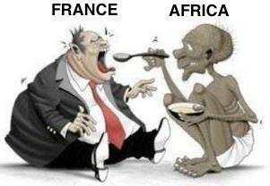 Le pillage de la France sur ses anciennes colonies en Afrique via le CFA