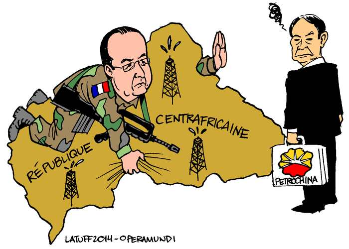 Le pillage de la France sur ses anciennes colonies en Afrique