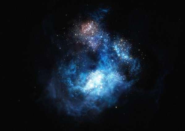 Une nouvelle galaxie nommée CR7 en l'honneur de Cristiano Ronaldo