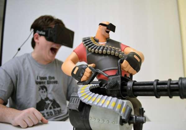 Pas de sexe sur l'Oculus Rift, mais il n'exclut pas la violence