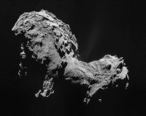 Une forme de vie alien sur la comète Tchouri ?
